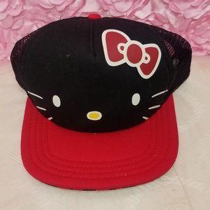 Hello Kitty trucker cap